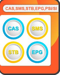 CAS, SMS, STB