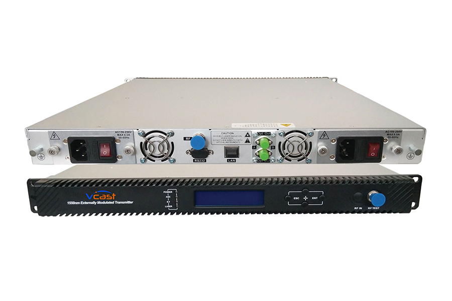 1550nm external transmitter | Vcast